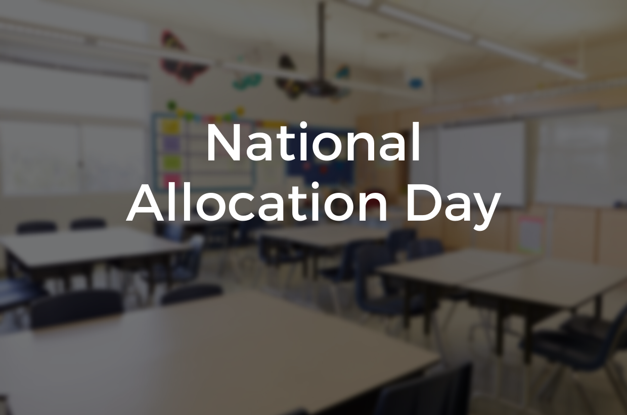 Welcome to Larkhill! National Allocation Day 2020